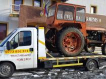 Tractari auto asistenta rutieră utilaje