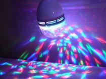 Bec disco led rotativ multicolor Nou