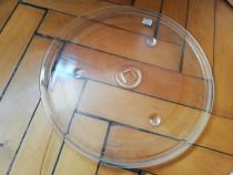 Farfurie microunde 32 Cm diametru, centru patrat 20 mm