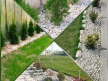 Piatra Alba Decorativa Pentru Amenajări Grădini,Spatii Verzi