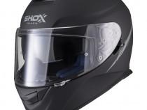 Casca Moto Shox Assault Evo – Negru Mat - Ochelari soare