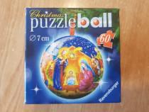 Puzzle Ball Ravensburger, glob Craciun de colectie