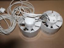 Ventilatoare Axiale in linie, VENTS 125 VKO1, D.125mm, 190mc