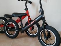 Bicicleta fara pedale macaca rosie !!