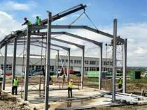 Structura hală metalică 10m lățime 20m lungimea 4m înălțime