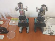2 microscoape cu accesorii