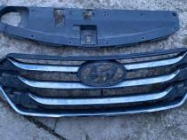Grila radiator bara fata Hyundai Santa Fe 3 2013 - 2017
