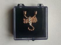 Brosa insigna zodie scorpion martisor bodoaba