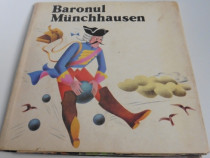 Carte pentru copii 3 D baronul munchhausen