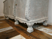 Comoda veche din lemn reconditionata (Bufet/Servanta/Mobila)