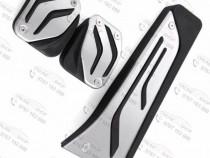 Set pedale inox BMW pt toate modele, Manuala sau Automata