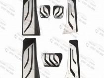 Pedale inox bmw f10,g30,f01, x3, x4, z4, f11