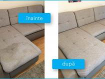 Curatare la domiciliu canapele, fotolii, mochete