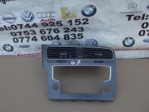 Grile aer VW Golf 7 grila centrala aer caldura buton avarii