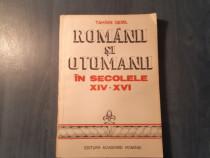 Romanii si otomanii in sec. 14-16 Tahsin Gemil