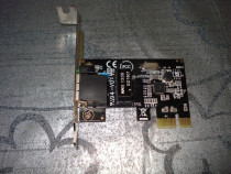 Placa de retea LAN low profile PCI-E 1x mini itx PC Gigabyte