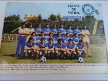 Carte postala - Echipa de Fotbal Mecanica Fina - Bucuresti
