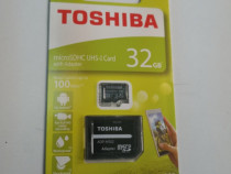 Card de memorie microSDHC Toshiba 32 GB sigilat