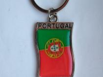 Breloc suvenir de colectie drapel steag Portugalia
