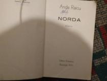 """Romanul""""Norda""""de Anda Raicu,apărut la Editura Eminescu Bucur"""