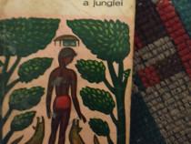 """Romanul""""A doua carte a junglei""""de Rudyard Kipling,1966"""