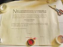 B297-I-Diploma de Doctor Thomam Wurzl Univ. Vindobonensis.