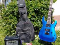Chitara electrica Jackson JS 22 +Amp Roland Cube +Pedala XHR