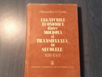 Legaturile economice dintre Moldova si Transilvania A. Gonta