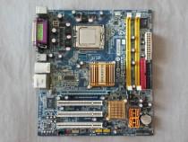 Placa de baza Gigabyte si procesor Intel, defecte