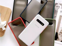 Samsung S10 S10 Plus - Husa Hybrid Rama Silicon Spate Plast