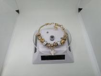 Bratara Originala Pandora Gold, certificat de garantie+cutie