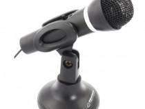 Microfon pentru PC-uri ,Notebook-uristereo,lungime cablu1.5m