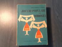 Jocuri populare din Dobrogea de Gh. Popescu Judet