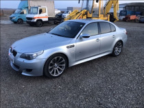 Dezmembrez BMW M5 E60-faruri, triple, jante, aripi etc
