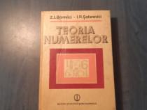 Teoria numerelor de Z. I. Borevici
