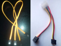 Cablu date SATA 3 / alimentare hard disk dvd ssd molex IDE