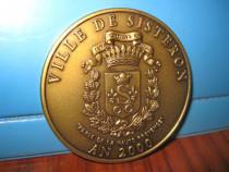 5859-Medalia Ville de Sisteron 2000.