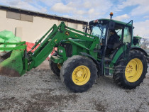 Tractor John Deere 6420 Premium TLS, an 2004, AC+ incarcator