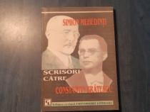 Simion Mehedinti scrisori catre Constantin Bratescu