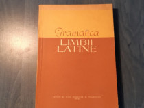 Gramatica limbii latine de N. I. Barbu Toma Vasilescu