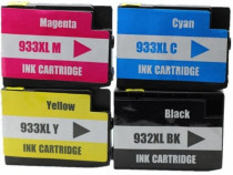 Cartuse HP 932 XL black / HP 933 yellow / HP 933 cyan / HP 9