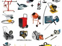 Închiriez scule betoniera,drujbe, bormașini , popi metalici