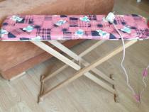Masa de calcat din lemn copii Vintage