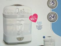 Sterilizator modular aburi Chicco, 2 in 1, nou, cu garantie