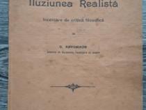Carte veche filosofie c antoniade iluziunea realista 1907