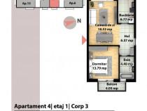 Apartament 2 camere,50mp, zona Sub Cetate