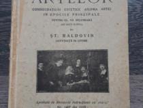 Carte veche istoria artelor stefan baldovin 1929