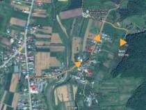 Teren Topoloveni 6000m2(ori parcelat) - vedere M.Fagaras