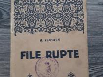 Carte veche alexandru vlahuta file rupte nuvele