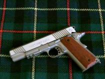 Pistol airsoft metal modificat cybergun colt cu co2 la pret